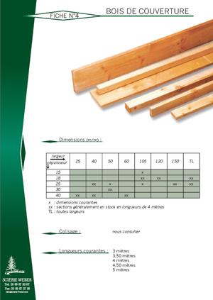 Couverture bois